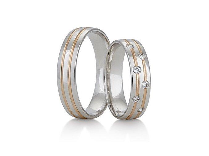 Snubní prsteny LR-349