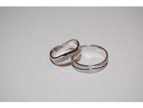 Snubní prsteny RE-31F+ST-0150