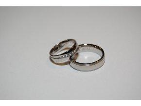Snubní prsteny LR-352+TI-040