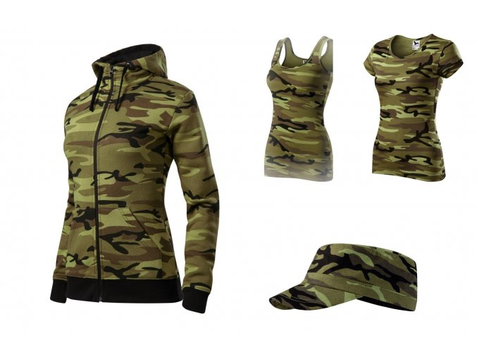 Camo set Woman Green