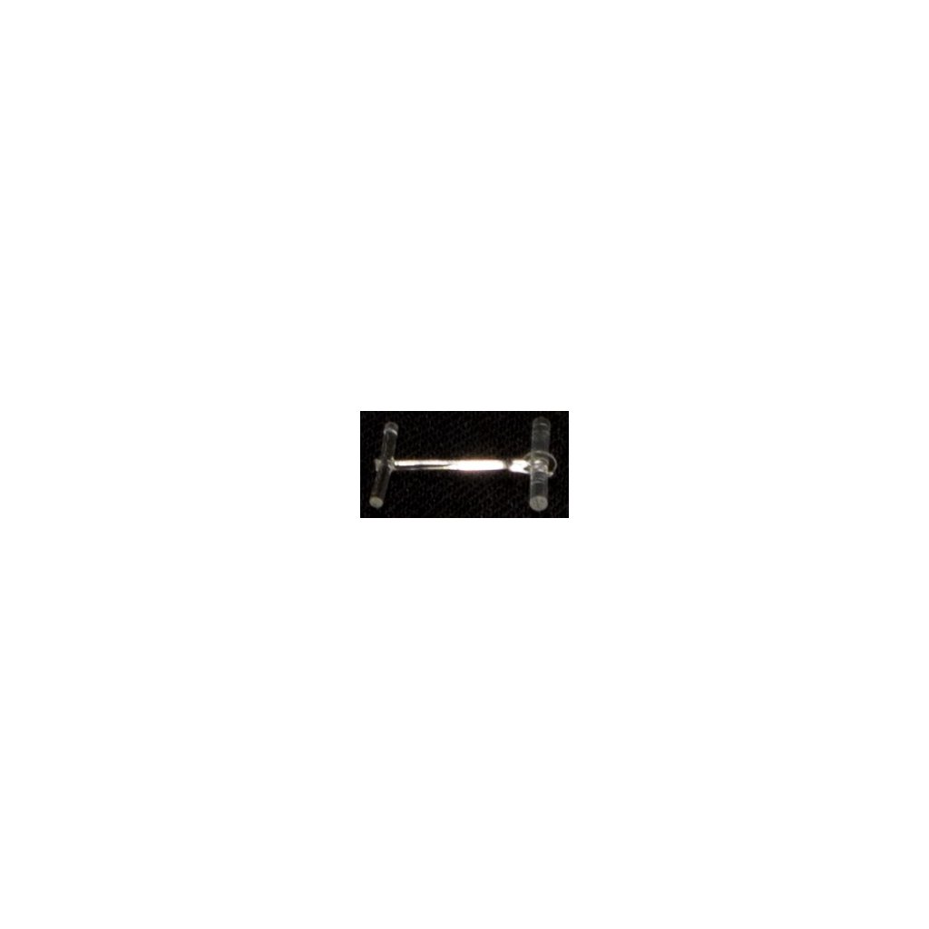 Splinty standard T-END, Heavy duty, Nylon, 7 mm, čiré, Avery Denninson