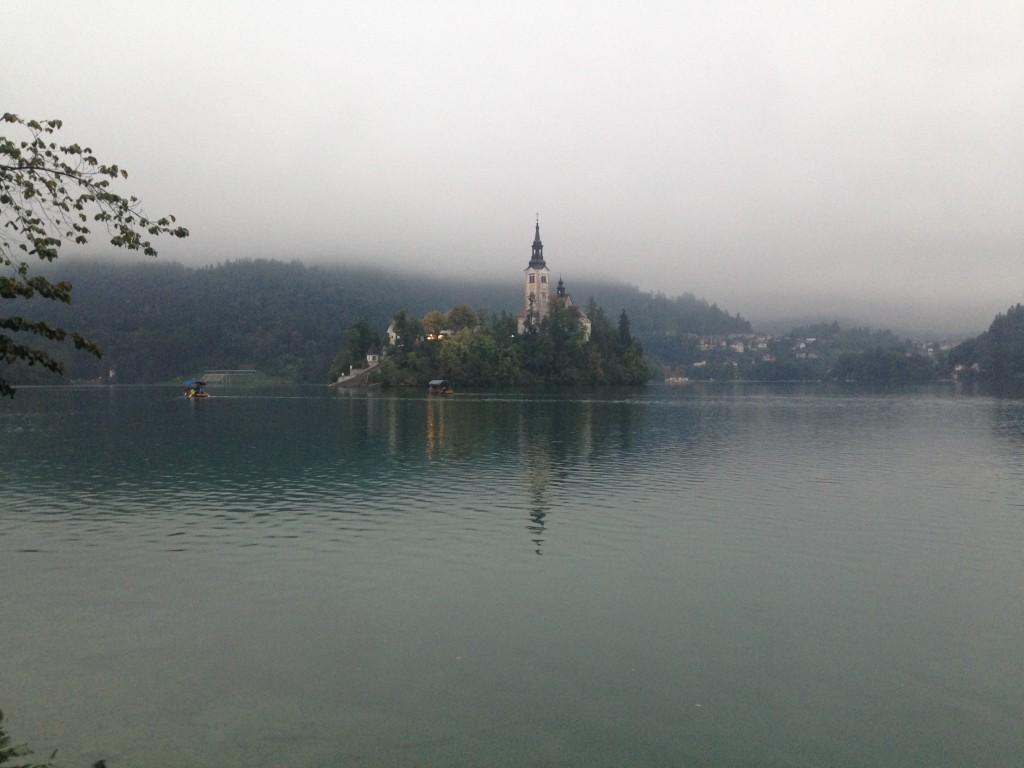 Výlet do Slovinska aneb jak se zabavit, když je v horách mlha a prší