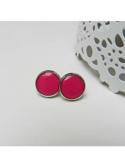 Náušnice Růžová žvýkačka