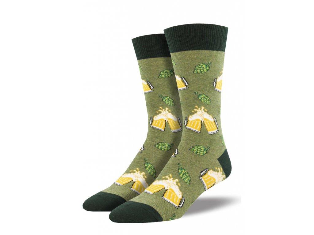 3aca0b1280c SOCKSMITH ponožky BEER PÁNSKÉ - BE SOCKCESSFUL