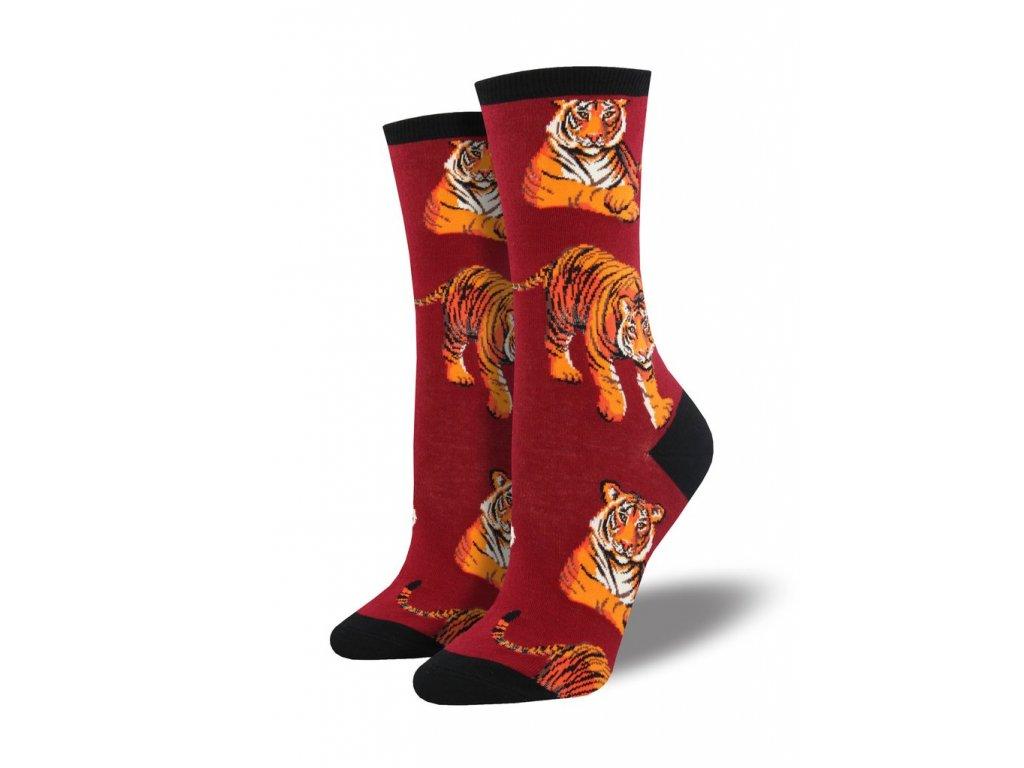 03437210c93 SOCKSMITH ponožky Tiger DÁMSKÉ - BE SOCKCESSFUL