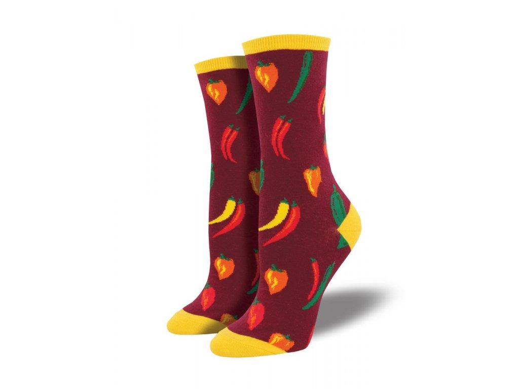31118362f6e SOCKSMITH ponožky Chili DÁMSKÉ - BE SOCKCESSFUL