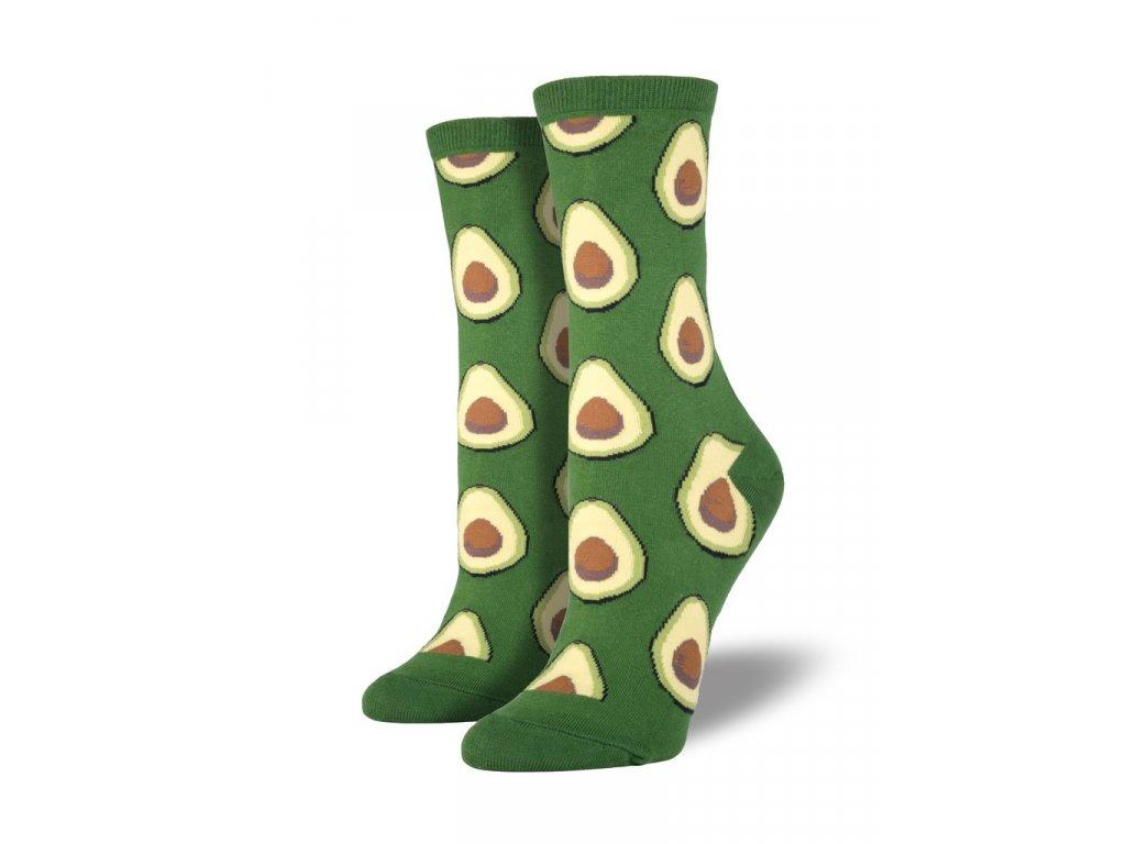 56d47e26ecd SOCKSMITH ponožky Avocado DÁMSKÉ - BE SOCKCESSFUL
