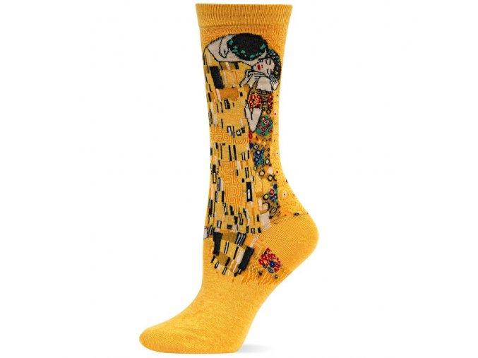 HOT SOX ponožky Polibek DÁMSKÉ