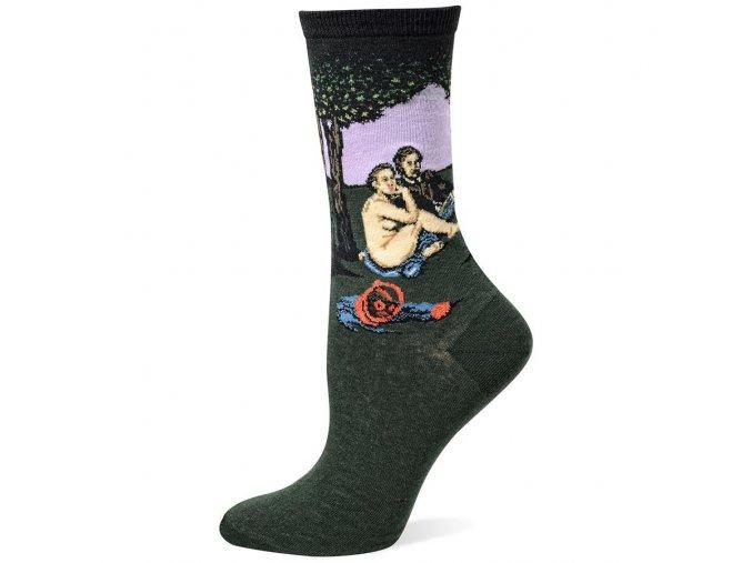 HOT SOX ponožky Snídaně v trávě DÁMSKÉ