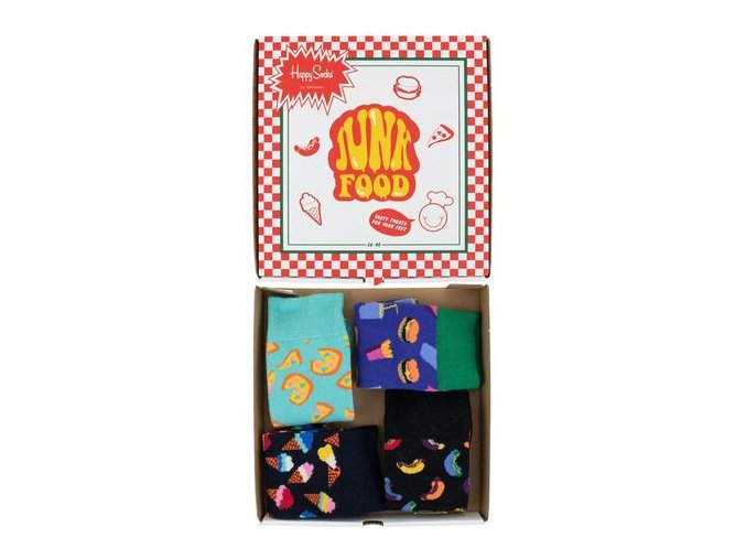 happy socks junkfood giftbox 4 pack