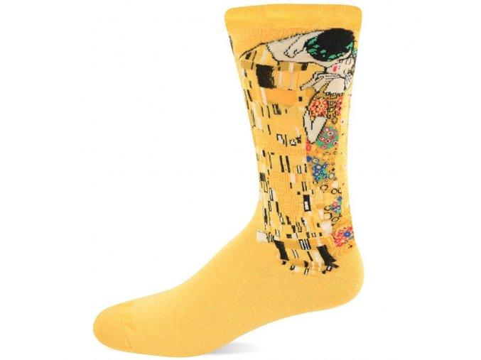 HOT SOX ponožky Polibek PÁNSKÉ