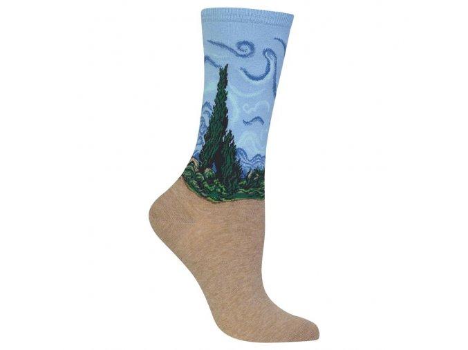 HOT SOX ponožky Cypřiš DÁMSKÉ