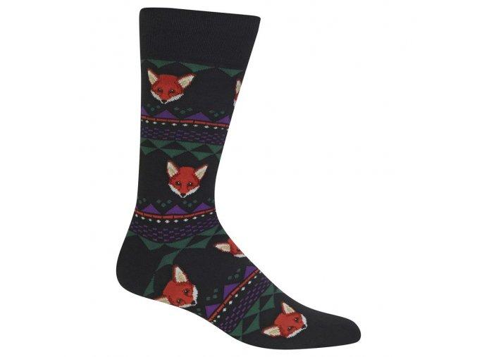 HOT SOX ponožky Fox PÁNSKÉ
