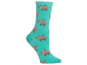 Women s Hippo Crew Socks 047852234955