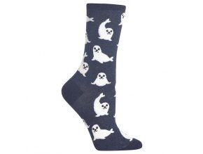 Women s Harp Seal Crew Socks 047852235341