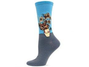 HOT SOX ponožky Slunečnice DÁMSKÉ