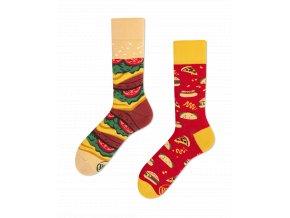 Many Mornings ponožky Fast Foot DÁMSKÉ