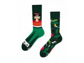 Many Mornings ponožky Feel Frida DÁMSKÉ