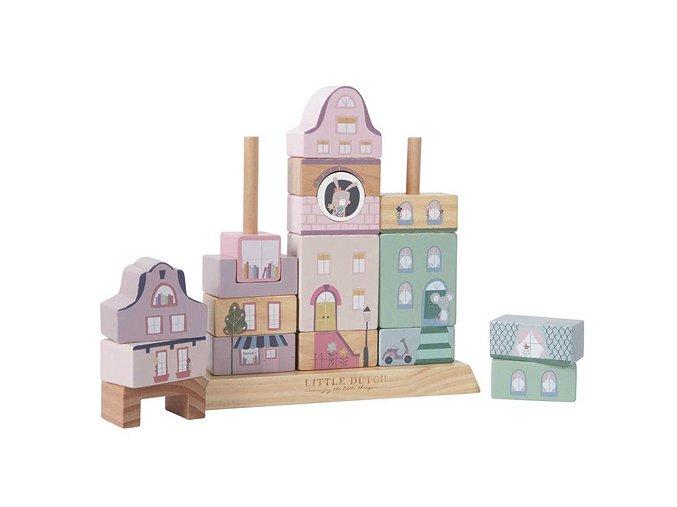 4429.. Block building pink