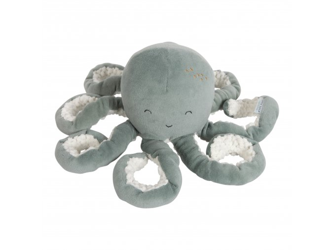 Malá plyšová chobotnička ocean - mint