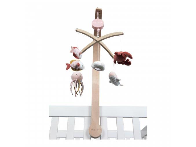 4842 Dřevěný kolotoč pink (1)