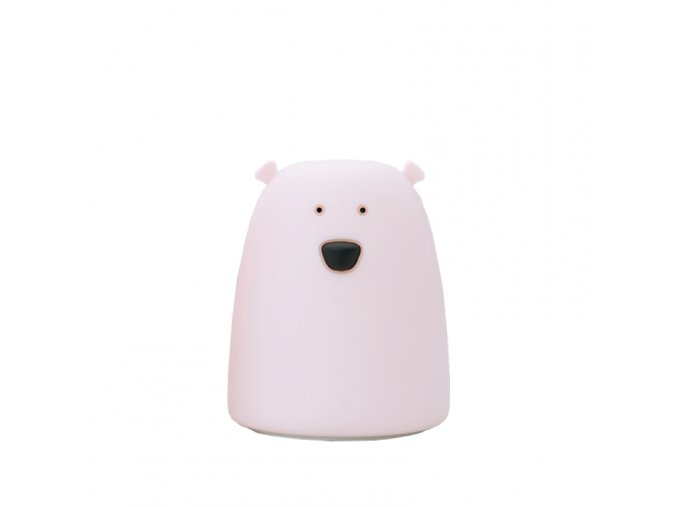 Malá lampička medvídek - růžová