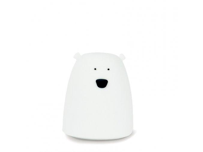 Malá lampička medvídek - bílá