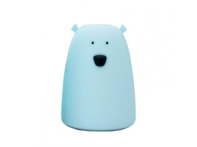 Velká lampička medvídek - modrá