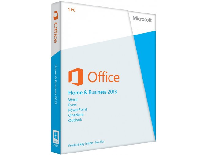 Office 2013 Home & Business - elektronická licence