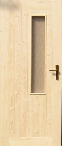 palubkové dveře prosklené