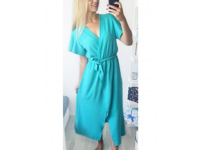 damske dlhe zelene modre elegantne saty