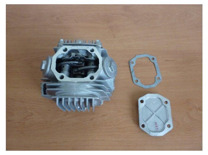 Hlava motoru pitbike dirtbike ATV-125ccm/52píst T1