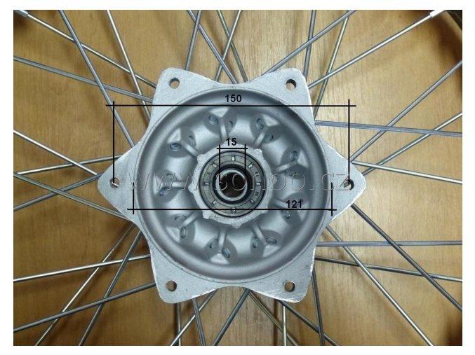 rafek zadni pitbike dirtbike T6 16