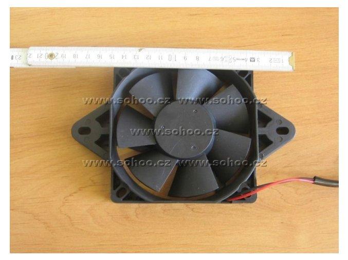 Větrák chladiče na ATV - plastový