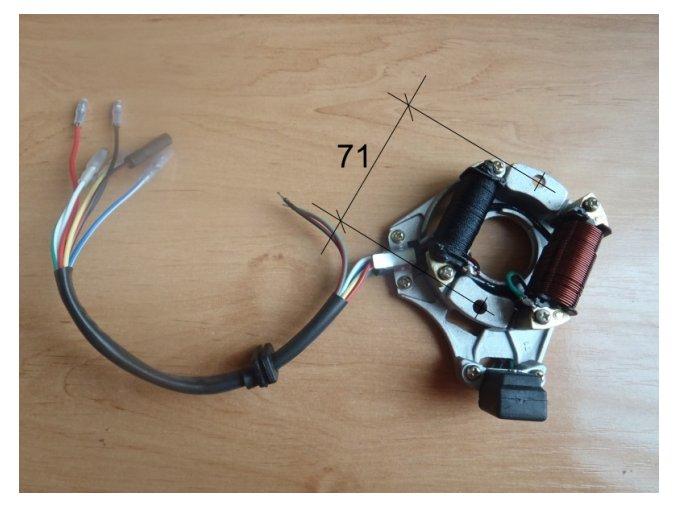 Stator zapalování na pitbike dirtbike ATV - 2/2/33