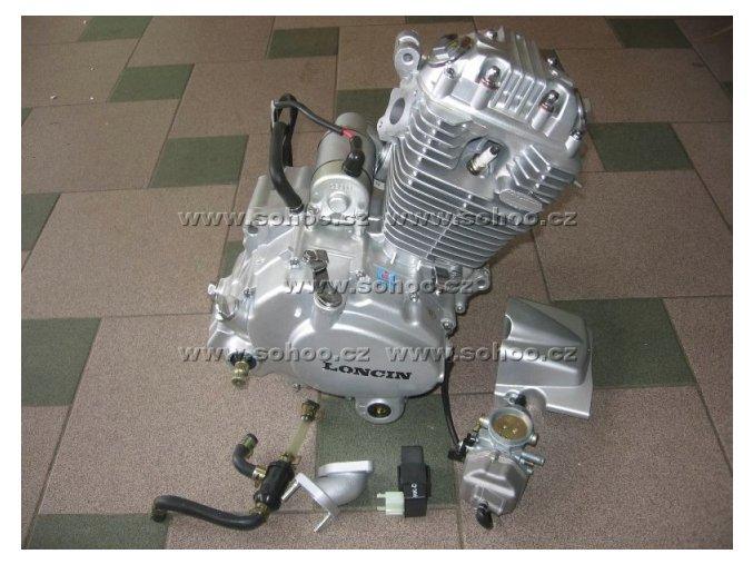 Motor pitbike dirtbike 250ccm-vzduchem chlazený