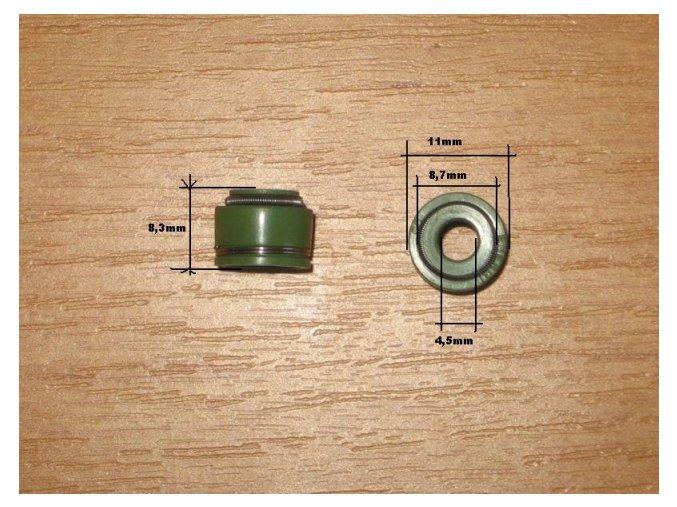 Gufero/simerink ventilů pit/dirt bike ATV-zelený