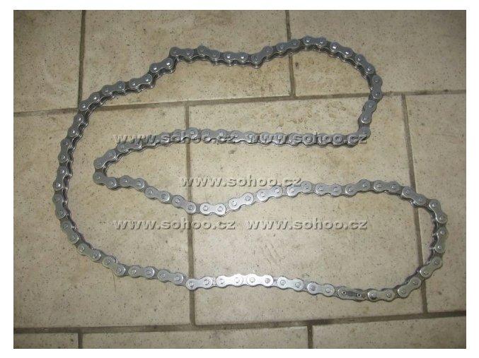 Řetěz na pitbike dirtbike ATV - 428/70čl.