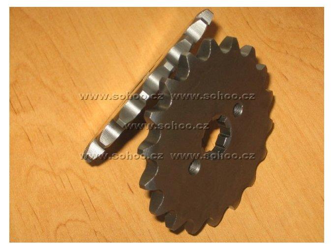 Řetězové kolečko pitbike dirtbike ATV(17Z/428/20)