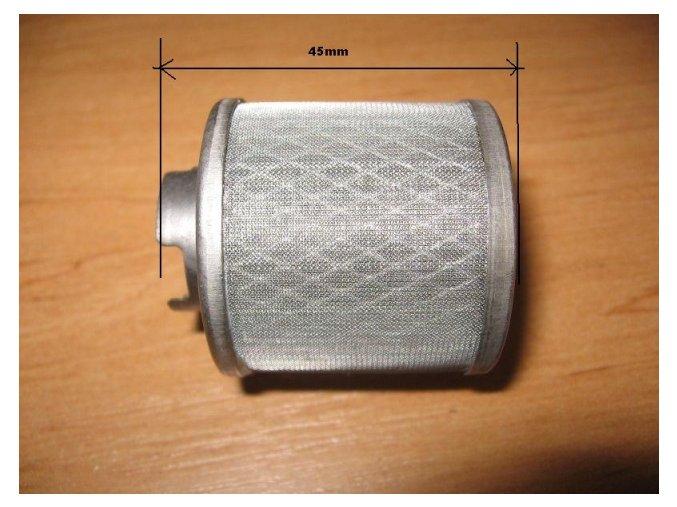 Olejový filtr pitbike dirtbike ATV - drátěný