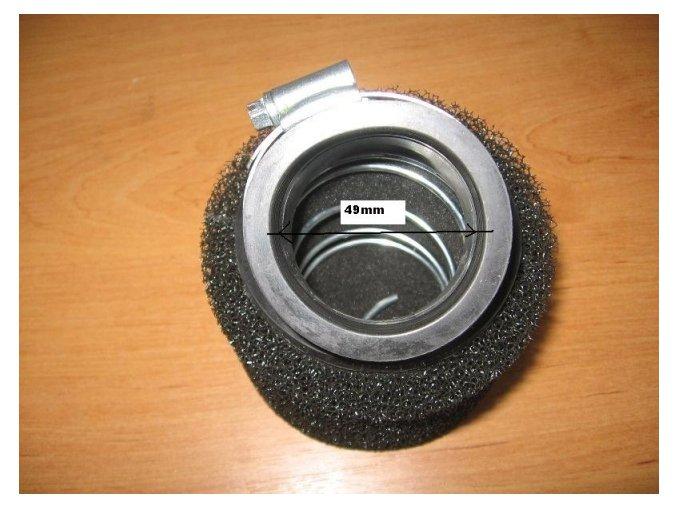 Vzduchový filtr pitbike dirtbike ATV-T5 mol/pl 48