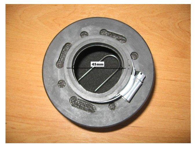 Vzduchový filtr pitbike dirtbike ATV-T6 drát/45