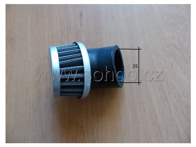 Vzduchový filtr pitbike dirtbike ATV-T8 drát/45°35