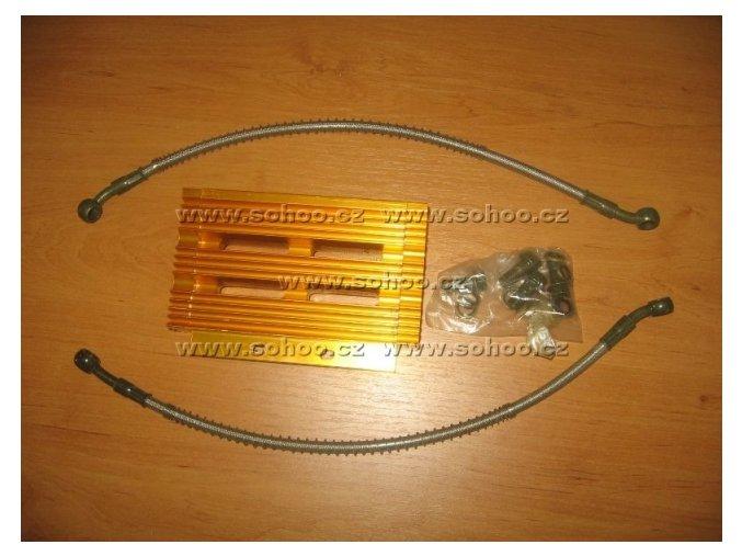 Olejový chladič pitbike dirtbike ATV - Typ 1