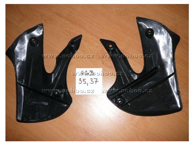 Boční plasty přední pitbike dirtbike - Agb 35, 37