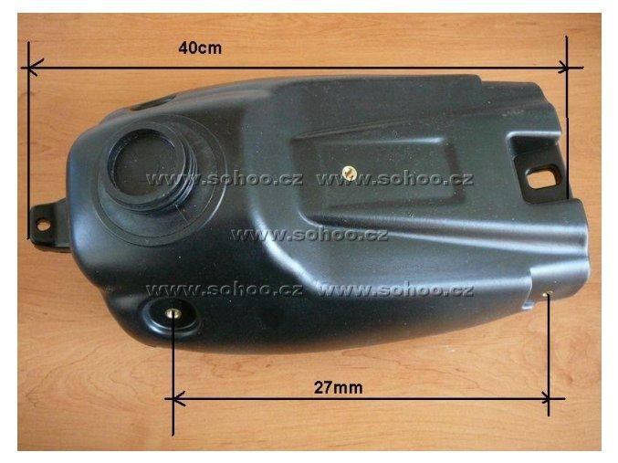 Palivová nádrž na pitbike, dirtbike - TYP 3 XB33
