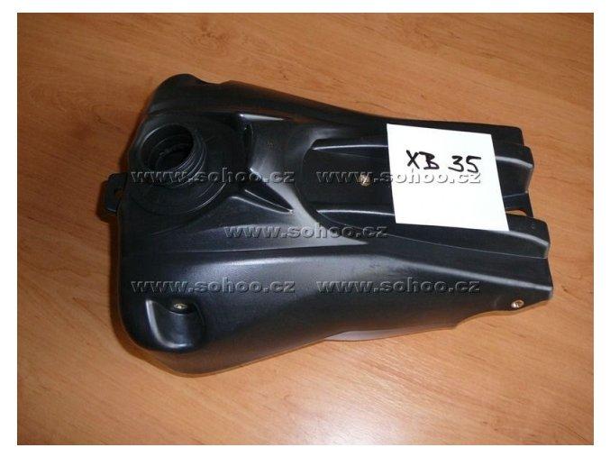 Palivová nádrž na pitbike, dirtbike - TYP 4 XB 35