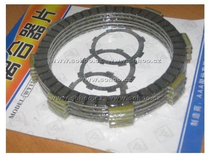 Spojková lamela pitbike dirtbike ATV - 250ccm 7ks