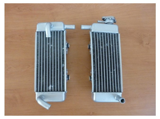 Chladič pitbike dirtbike ATV - chladičová sada T2