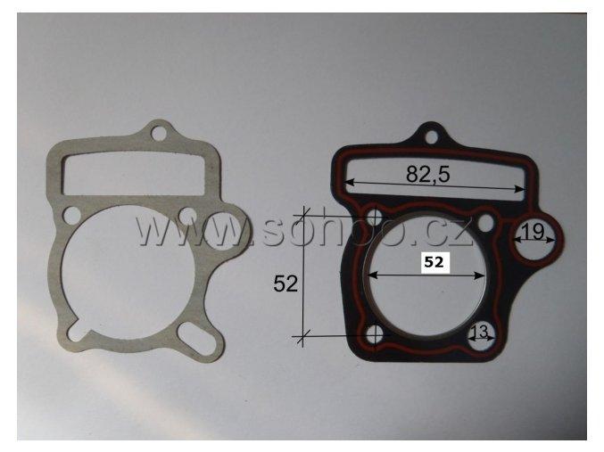 Těsnění válce a hlavy pitbike dirtbike ATV - 52/13